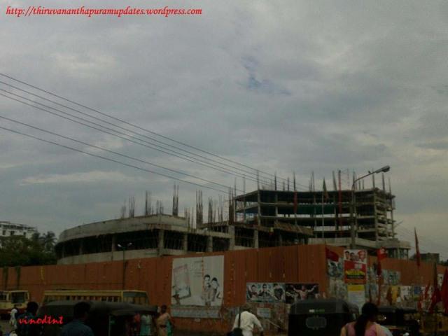 Bus terminal @ Thampanoor U/C