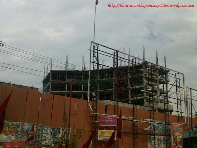 Bus terminal @ Thampanoor