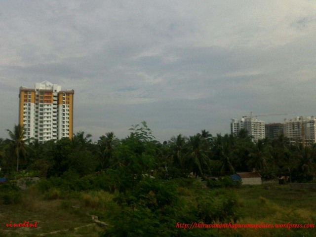 Trivandrum bypass high-rise buildings