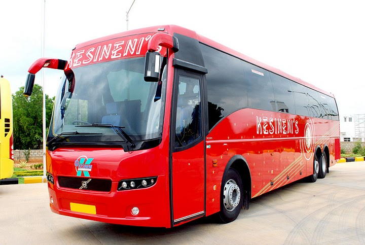 Kesineni Travels Commences Hyderabad Thiruvananthapuram A C Semi