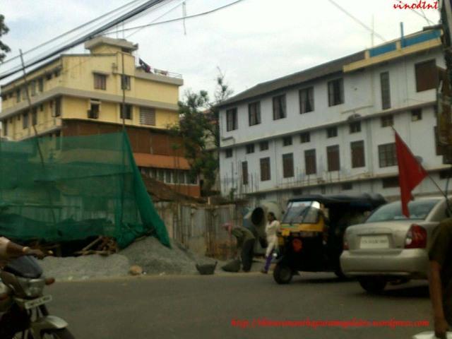 Building U/C at Govt Press Road Jn.
