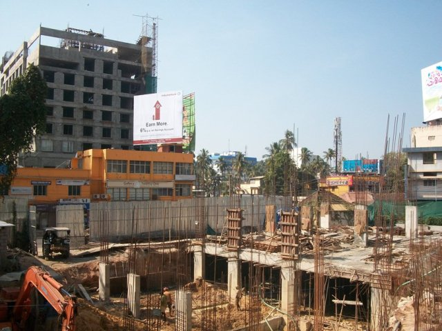 Aryanivas hotel nearing completion