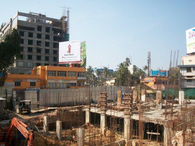 Aryanivas hotel nearing completion