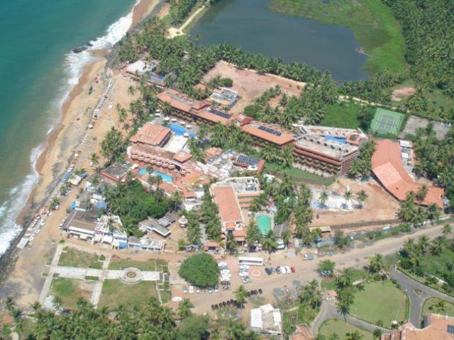 Uday Samudra, Kovalam, Thiruvananthapuram an ariel view