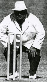 Late Umpire Swarup Kishen