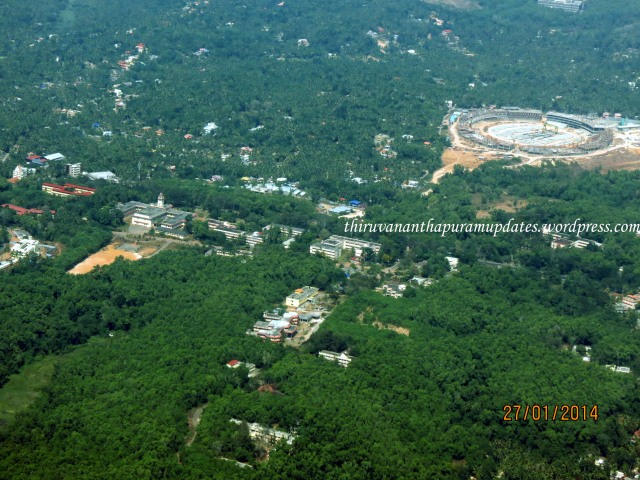 International Stadium & Kerala University Karyavattom Campus