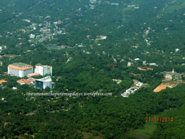 Technopark Phase I & Kerala University Karyavattom Campus