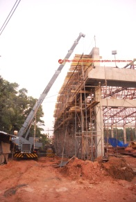 Slated for june-2015 completion, the Club-house work has progressed tremendously (13-Dec-2014)