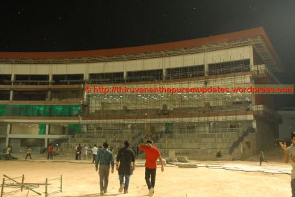 Entering the Pavilion....