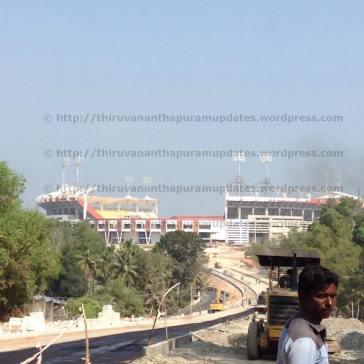 View from Main Road, Kazhakoottam