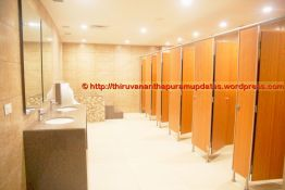 Locker Room Bathroom