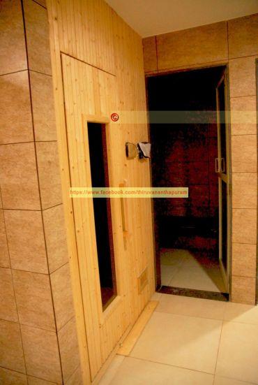 Locker Room Sauna
