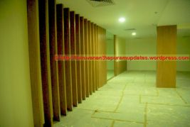 Player Warmup Area