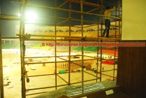 View from corporate boxes