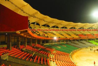 View from Balcony towards audience
