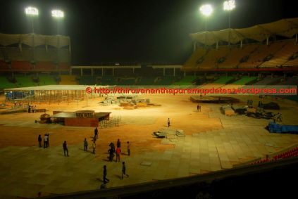 View from broadcast room