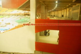View to the promenade